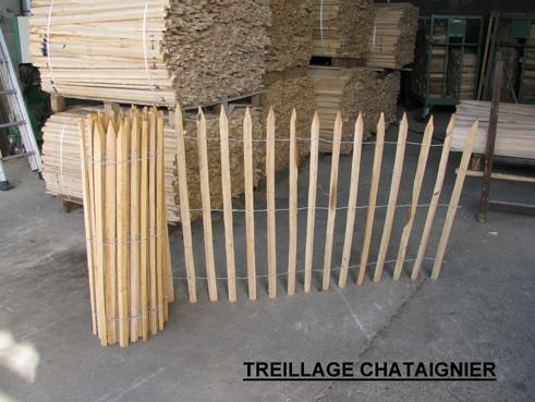 Tonnellerie villard - Cloture de jardin chataignier ...
